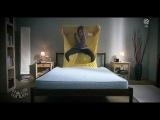Девушка кровать застелить не может!!Ржач посмотри!!